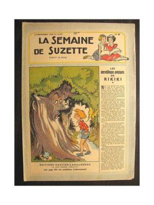 La semaine de Suzette 40e année n°47 (1949) Les merveilleuses aventures de Rikiki