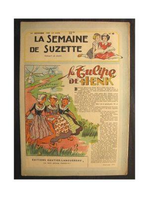 La semaine de Suzette 40e année n°48 (1949) La tulipe de Henk