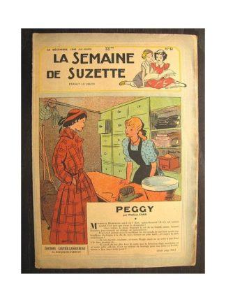 La semaine de Suzette 40e année n°51 (1949) Peggy (Bleuette)