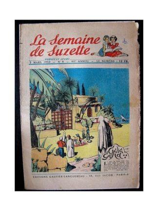 LA SEMAINE DE SUZETTE 41e ANNEE (1950) n°9 Gala-gala (Bleuette)