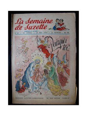 LA SEMAINE DE SUZETTE 41e ANNEE (1950) n°21 Pourquoi toi… (Bleuette)