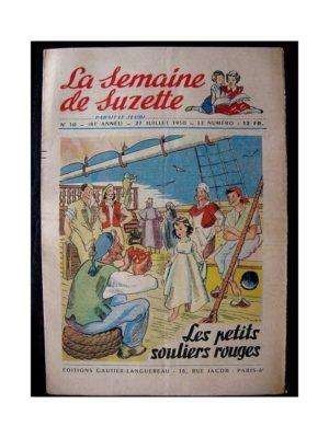 LA SEMAINE DE SUZETTE 41e ANNEE (1950) n°30 Les petits souliers rouges