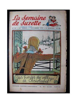 LA SEMAINE DE SUZETTE 41e ANNEE (1950) n°49 Les fumées du village de Christabel (Bleuette)