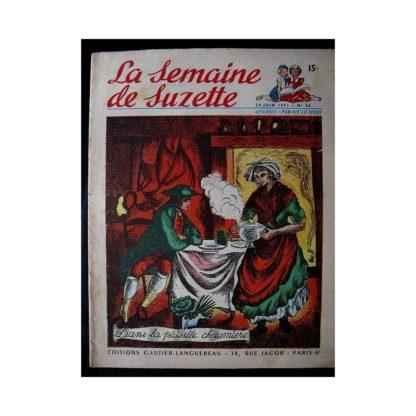 LA SEMAINE DE SUZETTE 42e ANNEE (1951) n°26 Dans la paisible chaumière