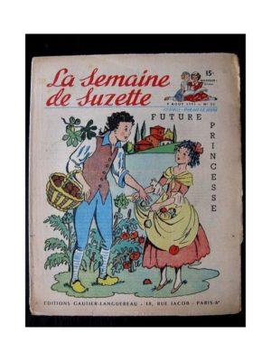 LA SEMAINE DE SUZETTE 42e ANNEE (1951) n°32 Future princesse