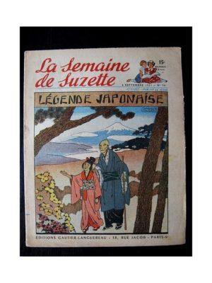 LA SEMAINE DE SUZETTE 42e ANNEE (1951) n°36 Légende japonaise