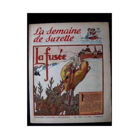 LA SEMAINE DE SUZETTE 42e ANNEE (1951) n°40 La fusée