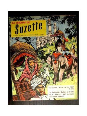 LA SEMAINE DE SUZETTE 48e année (1957) N°39 CATHY JOYAU DE LA NUIT
