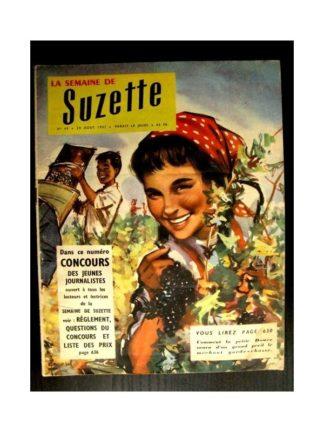 LA SEMAINE DE SUZETTE 48e année (1957) N°40 DOUCE ET LE GARDE CHASSE