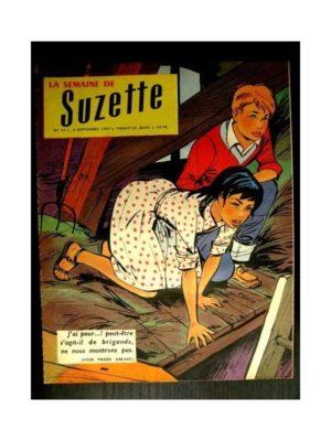 LA SEMAINE DE SUZETTE 48e année (1957) N°41 PENDANT L'ORAGE (Bleuette)
