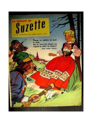 LA SEMAINE DE SUZETTE 48e année (1957) N°42 L'AIGLE ET LE POISSON D'OR