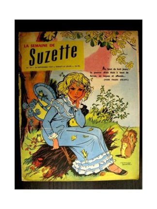 LA SEMAINE DE SUZETTE 48e année (1957) N°44 ALIDA ET LES BRIGANDS