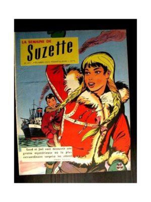 LA SEMAINE DE SUZETTE 48e année (1957) N°45 LA GROTTE DE GLACE / BAMBINO