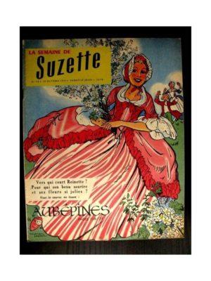 LA SEMAINE DE SUZETTE 48e année (1957) N°46 AUBEPINE