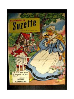 LA SEMAINE DE SUZETTE 48e année (1957) N°50 DOETTE L'ORPHELINE (BLEUETTE)