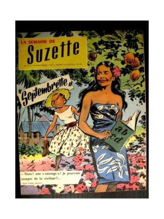 LA SEMAINE DE SUZETTE 48e année (1957) N°51 SEPTEMBRETTE