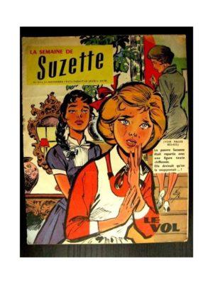 LA SEMAINE DE SUZETTE 48e année (1957) N°52 LE VOL