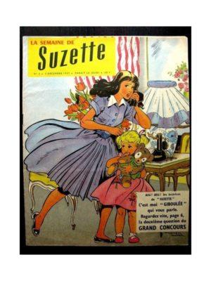 LA SEMAINE DE SUZETTE 49e année (1957) N°2 MADEMOISELLE GIBOULEE