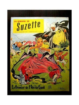 LA SEMAINE DE SUZETTE 49e année (1958) N°8 LE PREMIER DE L'AN DE GAUD
