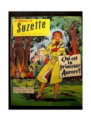 LA SEMAINE DE SUZETTE 49e année (1958) N°9 LA PRINCESSE AURORE