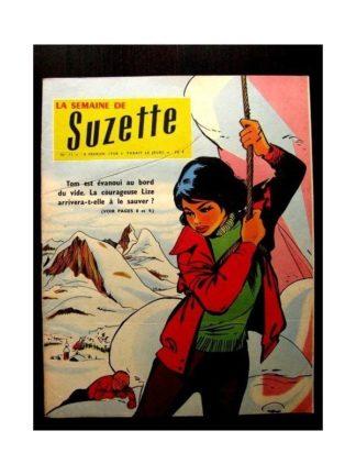 LA SEMAINE DE SUZETTE 49e année (1958) N°11 UN PERILLEUX SAUVETAGE
