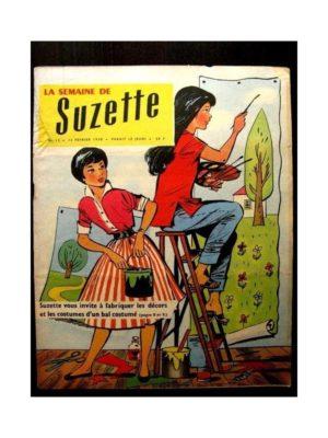 LA SEMAINE DE SUZETTE 49e année (1958) N°12 MARDI GRAS