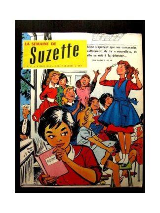 LA SEMAINE DE SUZETTE 49e année (1958) N°15 UNE DETTE D'HONNEUR