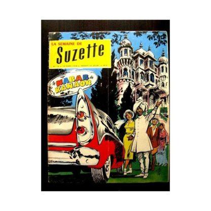 LA SEMAINE DE SUZETTE 49e année (1958) N°16 LE NABAB DE KANAOR