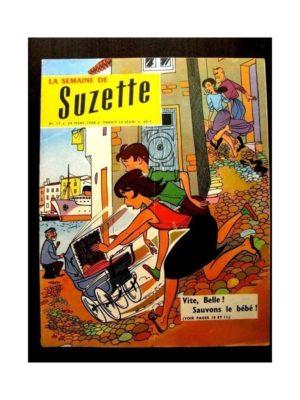 LA SEMAINE DE SUZETTE 49e année (1958) N°17 CA TOURNE MAL!