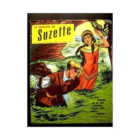 LA SEMAINE DE SUZETTE 49e année (1958) N°38 HELIDOR AUX JOUES DE CUIVRE