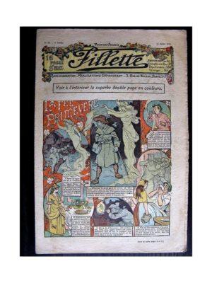 FILLETTE (SPE) 1910 N°39 LA FEE PRIMEVERE (Poupée Fillette – Jupe Cloche)