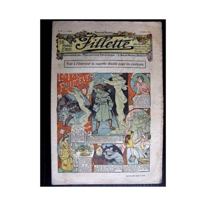 FILLETTE N°39 (14 juillet 1910) LA FEE PRIMEVERE (Poupée Fillette)