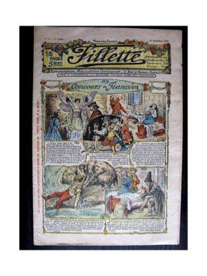 FILLETTE N°50 (29 septembre 1910) UN CONCOURS DE FIANCEES (Poupée fillette)