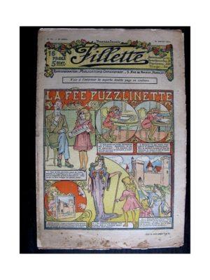 FILLETTE (SPE) 1911 N°67 LA FEE PUZZLINETTE (Friquette – Manchon)