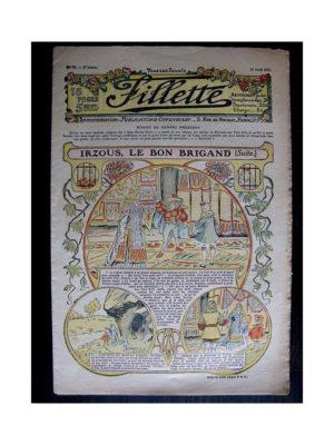 FILLETTE (SPE) 1911 N°78 IRZOUS LE BON BRIGAND (Poupée Fillette – Pèlerine Colette)