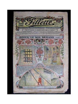FILLETTE N°79 (20 avril 1911) IRZOUS LE BON BRIGAND (suite) Poupée Fillette