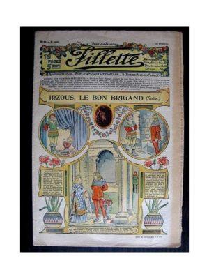 FILLETTE (SPE) 1911 N°80 IRZOUS LE BON BRIGAND (Friquette – Guimpe en dentelle ou broderie)