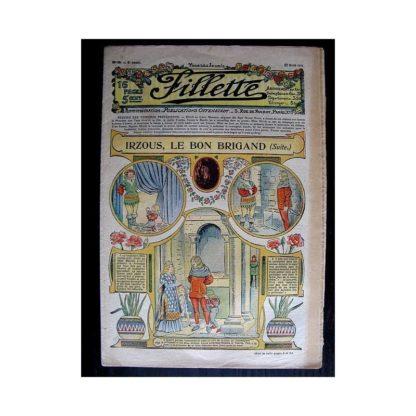 FILLETTE N°80 (27 avril 1911) IRZOUS LE BON BRIGAND (suite) Poupée Fillette