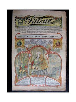 FILLETTE (SPE) 1911 N°81 IRZOUS LE BON BRIGAND (Poupée Fillette – Robe Yvette)
