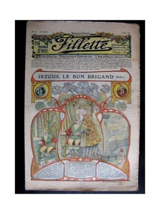 FILLETTE N°81 (4 mai 1911) IRZOUS LE BON BRIGAND (suite) Poupée Fillette