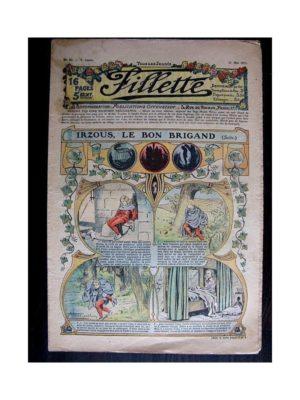 FILLETTE (SPE) 1911 N°82 IRZOUS LE BON BRIGAND (Poupée Fillette – Chemise Empire)
