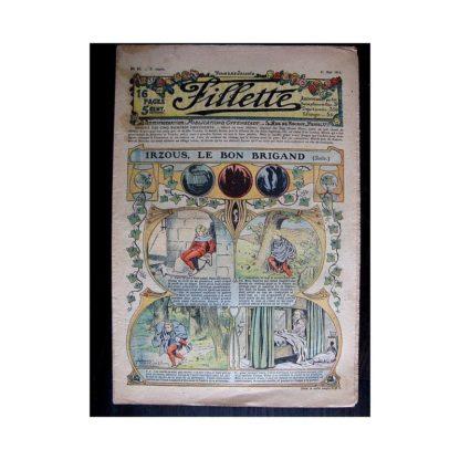 FILLETTE N°82 (11 mai 1911) IRZOUS LE BON BRIGAND (suite) Poupée Fillette