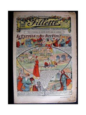 FILLETTE (SPE) 1911 N°87 LE REPTILE AUX SEPT TETES (Poupée Fillette – Blouse Kimono)