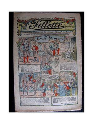 FILLETTE (SPE) 1911 N°91 LES TROIS POMMES (Poupée Fillette – Couche culotte)