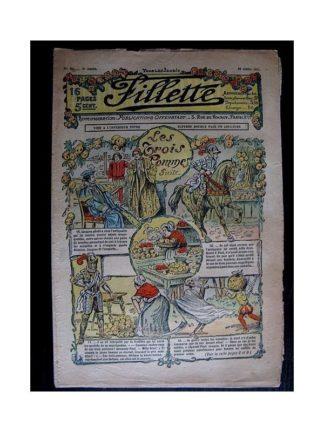 FILLETTE N°92 (20 juillet 1911) LES TROIS POMMES