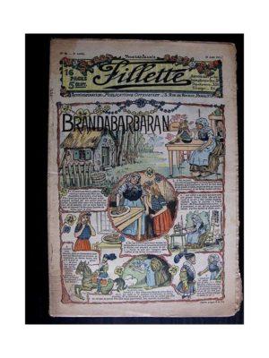 FILLETTE N°98 (31 août 1911) BRANDABARBARAN (Poupée Fillette)