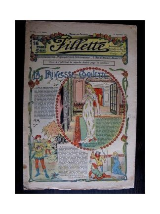 FILLETTE N°101 (21 septembre 1911) LA PRINCESSE COQUETTE