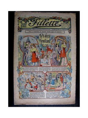 FILLETTE (SPE) 1912 N°119 LE VIEUX MENDIANT (Parure de fourure – Manchon)