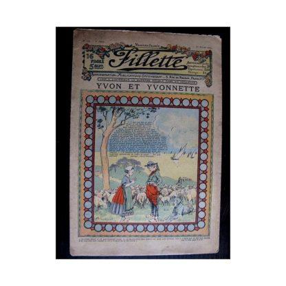 FILLETTE N°120 (1er février 1912) YVON ET YVONNETTE