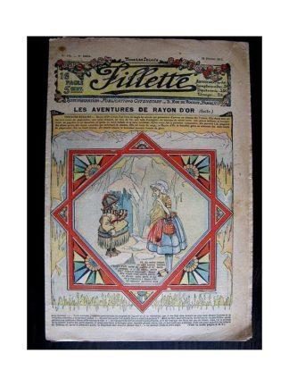 FILLETTE N°124 (29 février 1912) LES AVENTURES DE RAYON D'OR (suite)